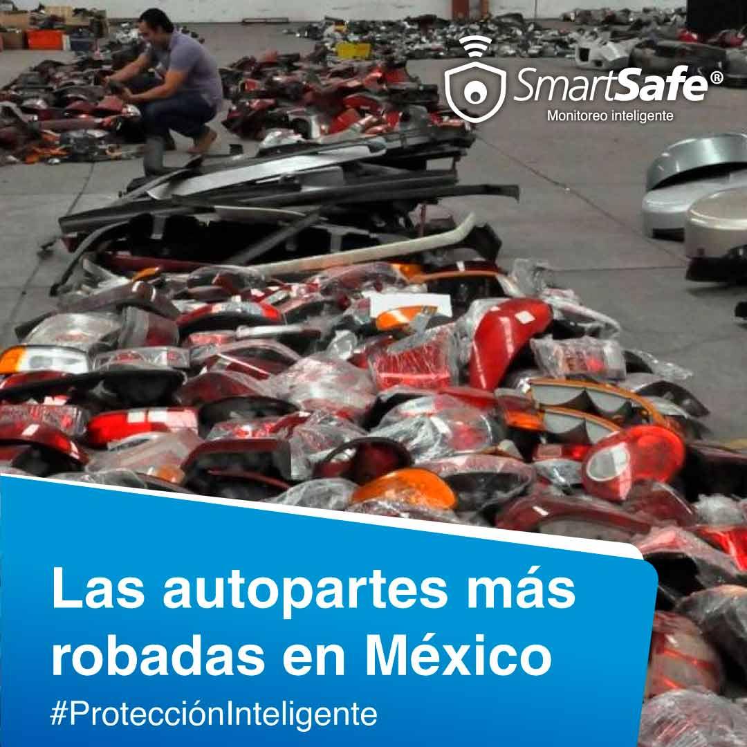 LAS AUTOPARTES MÁS ROBADAS EN MÉXICO