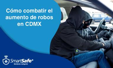 Cómo combatir el aumento de robos en cdmx