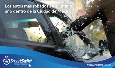 Los autos más robados en el último año dentro de la Ciudad de México