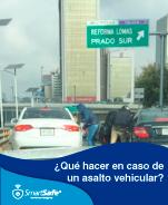QUÉ HACER EN CASO DE ASALTO VEHÍCULAR
