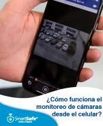 Cámaras de seguridad conectadas al celular