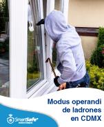 MODUS OPERANDI DE LADRONES EN CDMX