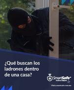 ¿Qué buscan los ladrones dentro de una casa?