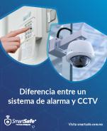 Diferencia entre un sistema de alarma y CCTV