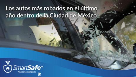 Cuáles son los autos más robados en México en 2021