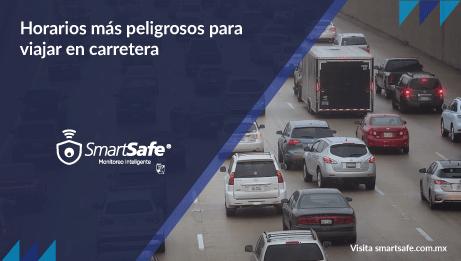 Horarios más peligrosos para viajar en carretera