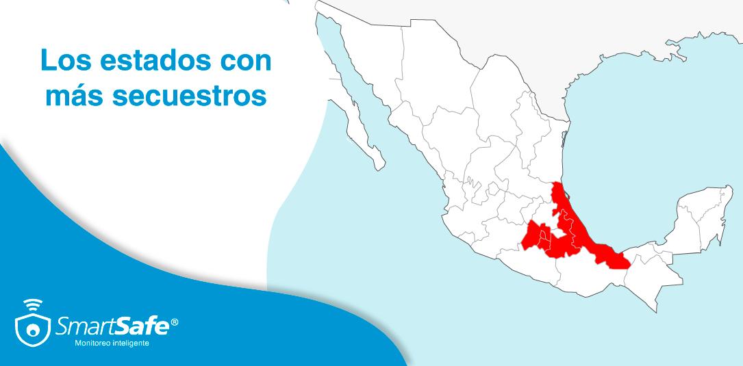 Estados con más secuestros en México y cómo prevenirse