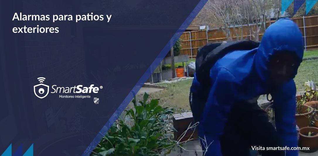 Alarmas para patios y exteriores