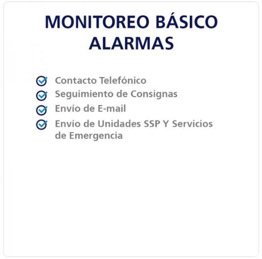 MONITOREO BÁSICO ALARMA PAGO MENSUAL